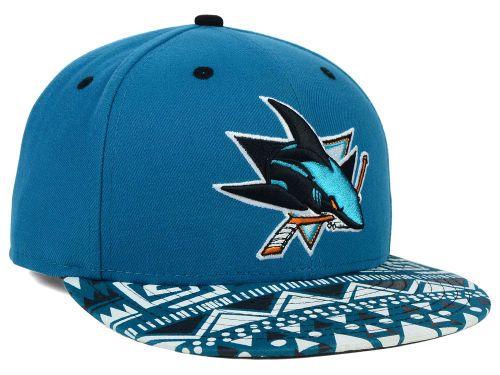 the latest 1f420 d5e14 San Jose Sharks New Era NHL Cross Colors 9FIFTY Snapback Cap Hats