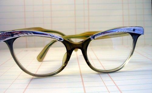 e764feca4f Vintage 1950 s Womens pair of Liberty Cat Eye glasses