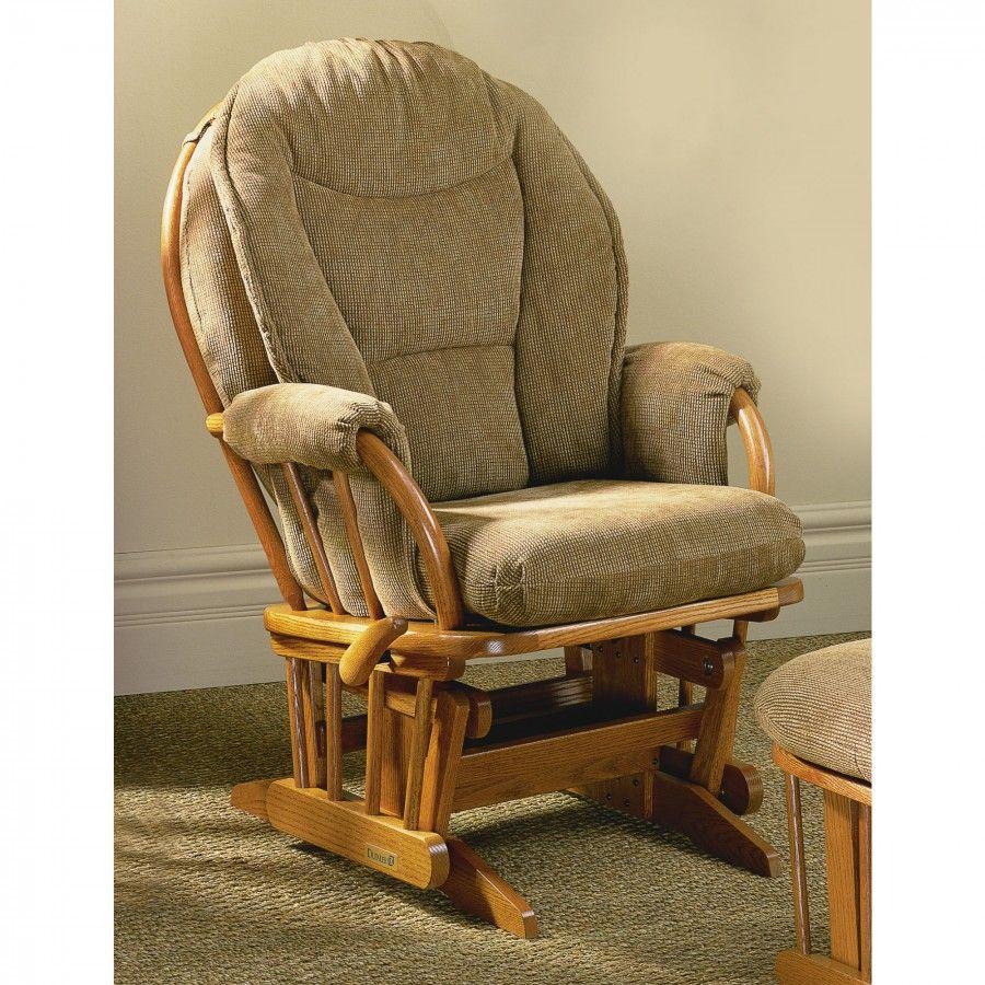 Dutailier 985 Maple Bow Back Maple Glider Cushion Color 530  # Muebles Dutailier