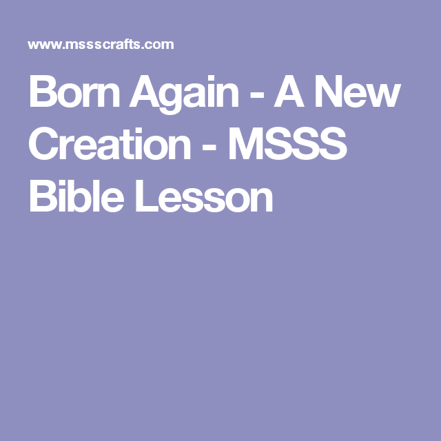 Msss bible lessons