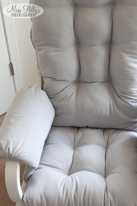 Rocking chair cushions nursery - Custom Chair Cushions Glider Cushions Rocking Chair Cushions Solid Colors