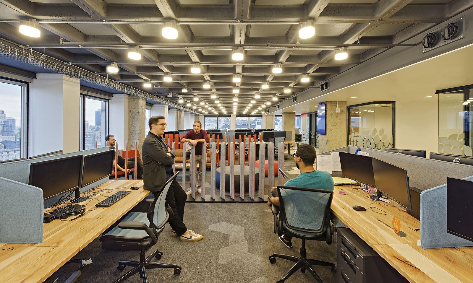 Inside Varonis Modern Nyc Headquarters Phase Ii The Globe