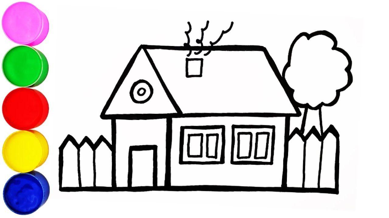 Haus Zeichnen Einfach