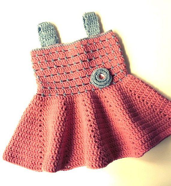 Crochet Pattern * Sandy Dress for baby girls * Instant Download ...