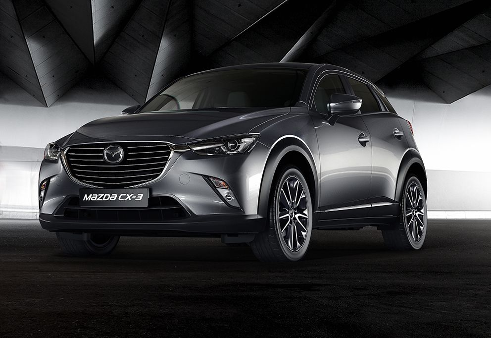 Mazda adds flagship CX3 GT Sport Crossover suv, Mazda
