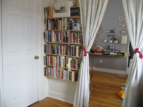 Bookshelf Ideas For Small Spaces Home Constructions Library Lust