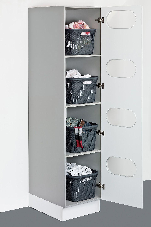 Utility Room Showcase Kitchens Brighton Hove In 2020 Waschkuchendesign Waschekorb Schrank Waschkuche Aufraumen