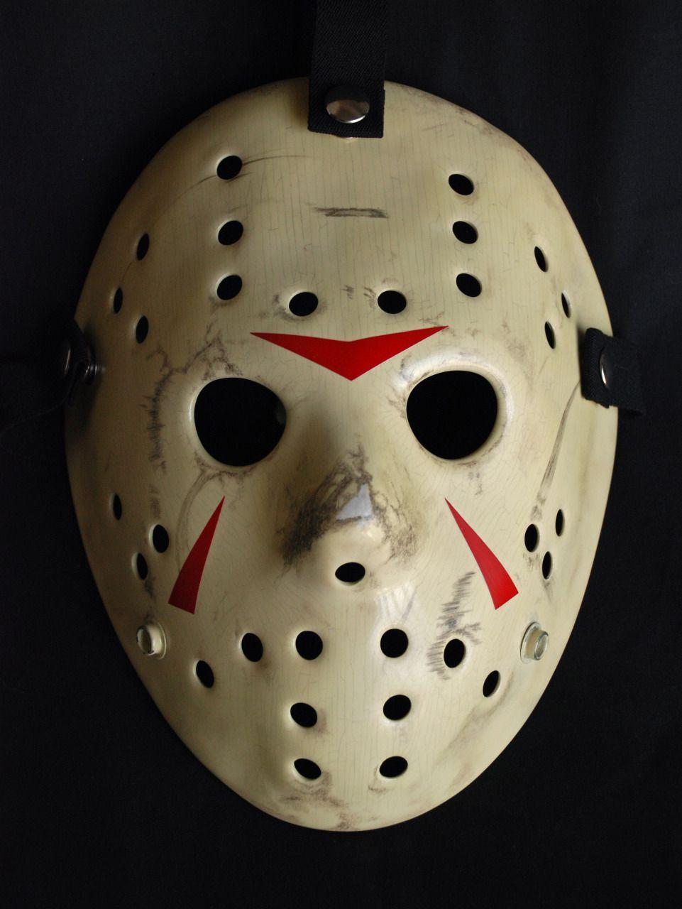 Old fashioned hockey mask