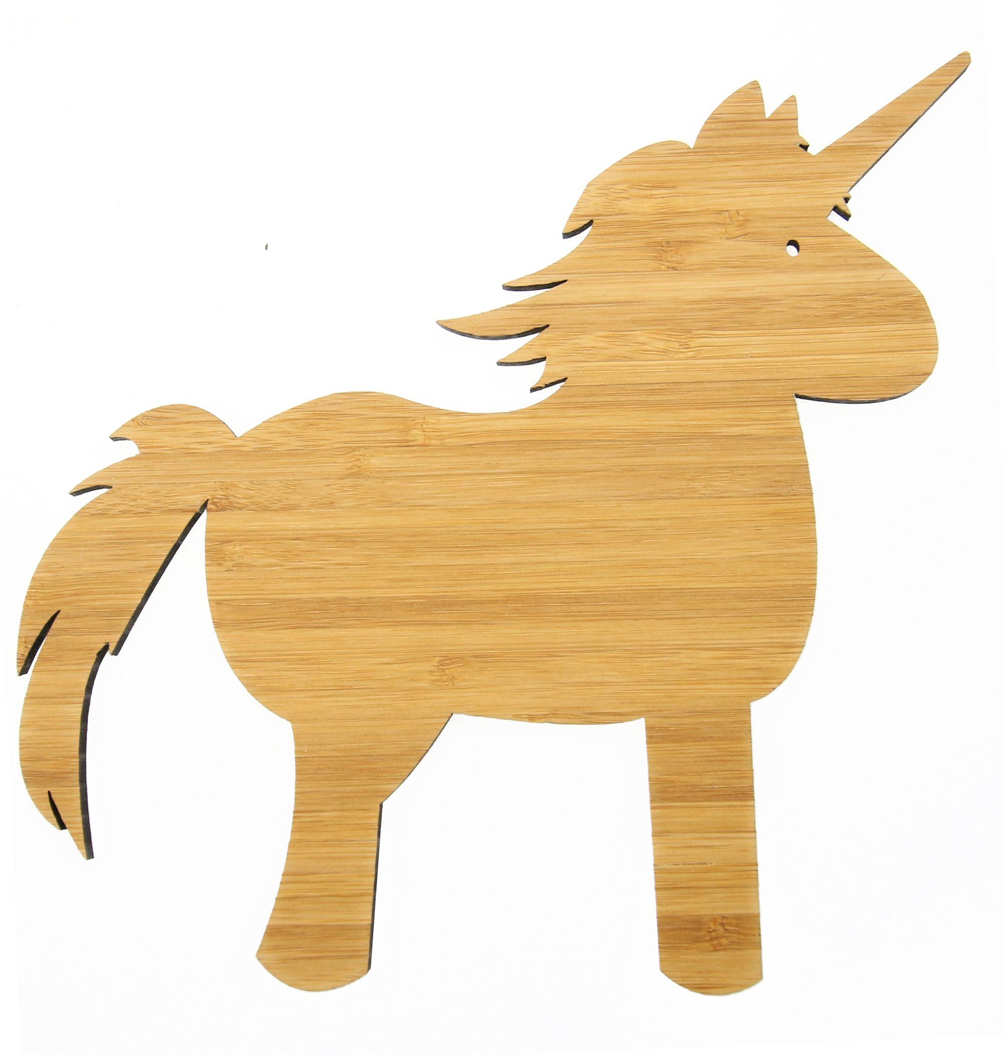 Wanddeko Einhorn Comic Holz Pferd Pinterest Comic Dekoration