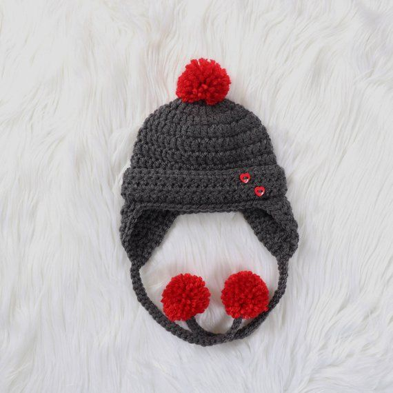 Baby Earflap Hat ed94f3dd731a