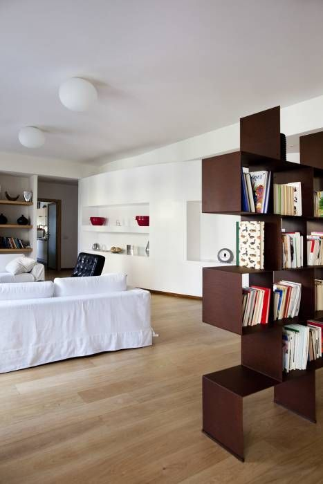 Casa t soggiorno moderno di mat architettura e design ...