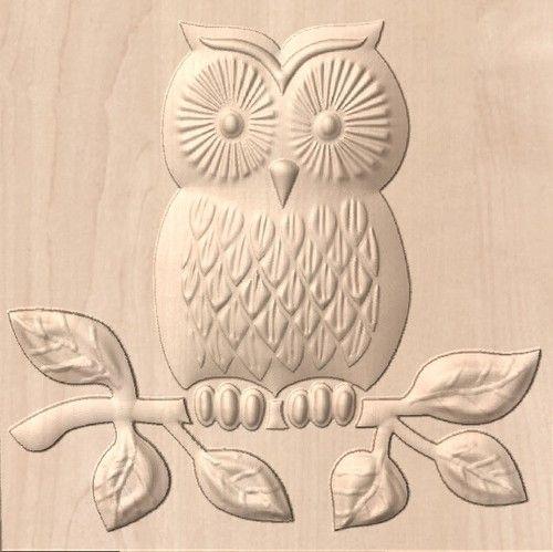 Mach 3 Toolpath Gcode 3d Art Relief For Cnc Router 1 8 Or 3mm Bit Cartoon Owl Coruja Ideias Mandala