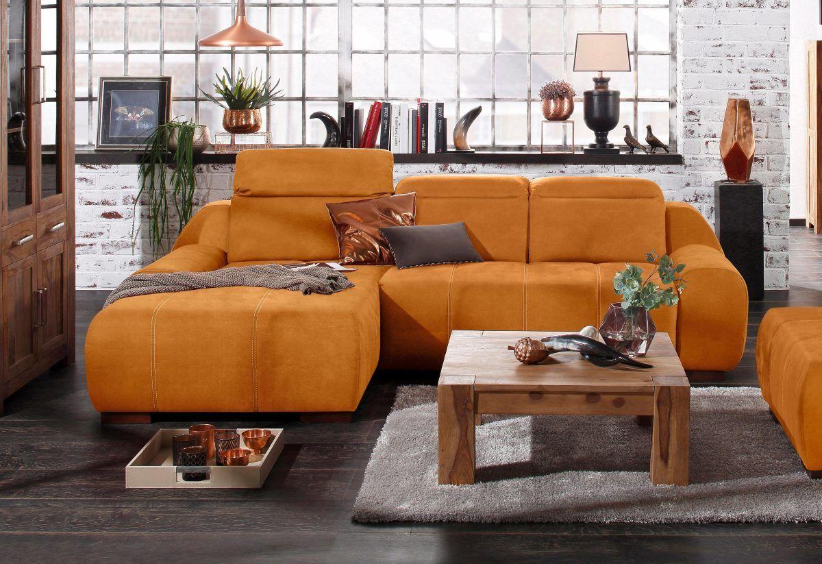 Premium Collection By Home Affaire Chaiselongue Spirit Gelb Recamiere Links Fsc Zertifiziert Jetzt Bestelle Modular Sofa Living Room Home Living Room Sofa