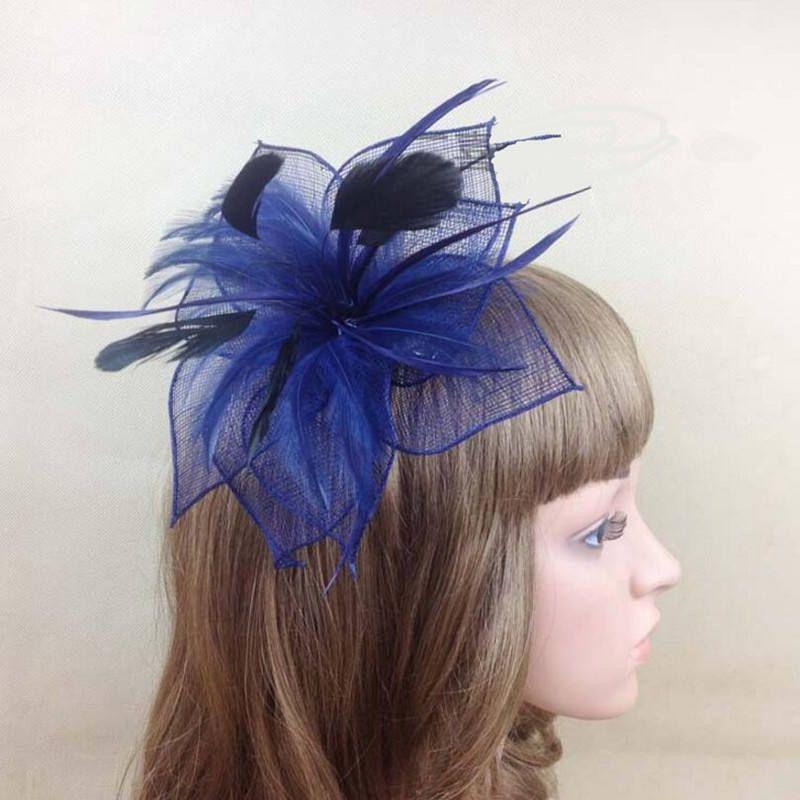Kentucky Derby Hat, Purple Fascinator, Church Hat, Formal