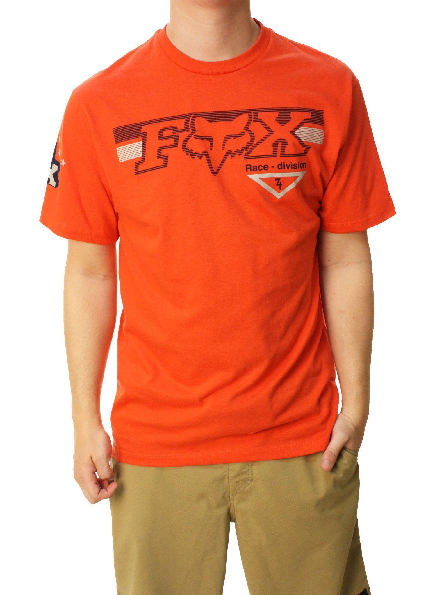 quality design 6aed7 ae297 Fox Racing Men s Engine Eruption Short Sleeve Crew Neck T-Shirt