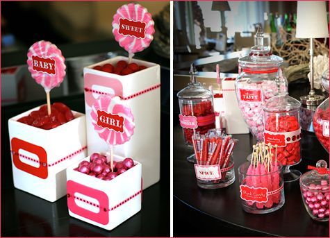 Diy Candy Buffet Lollipop Displays Party Candy Buffet Candy