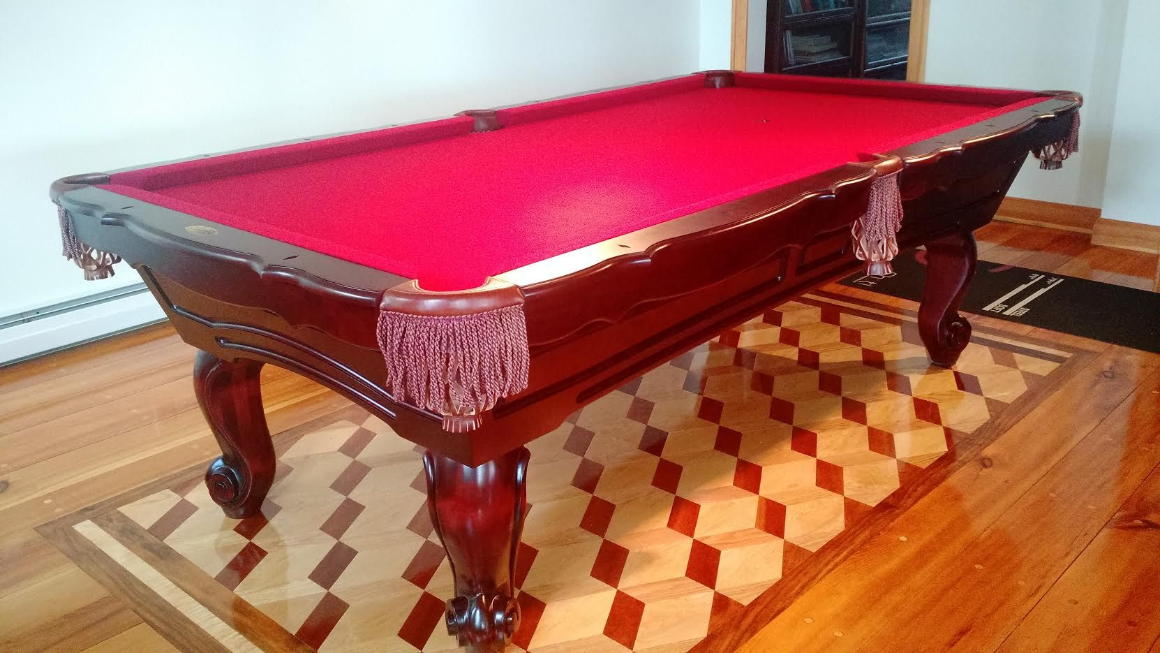 8 Connelly Maripossa Pool Table Traditional Cherry On Maple
