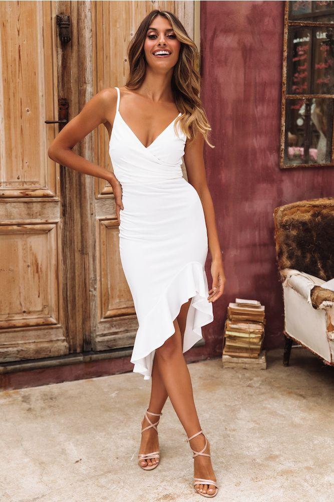 Make The Move Midi Dress White -   17 white dress Midi ideas