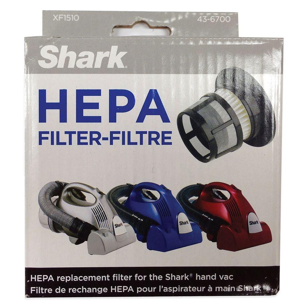 Shark HEPA Filter Hand Vac XF1510 Dust Cup Vacuum
