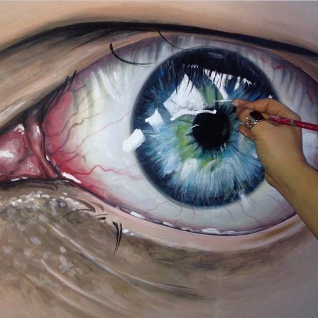 realistic eye drawing in color - Google Search | eyes ...