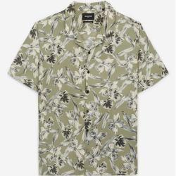 The Kooples - Hemd mit Blattprint - Damen