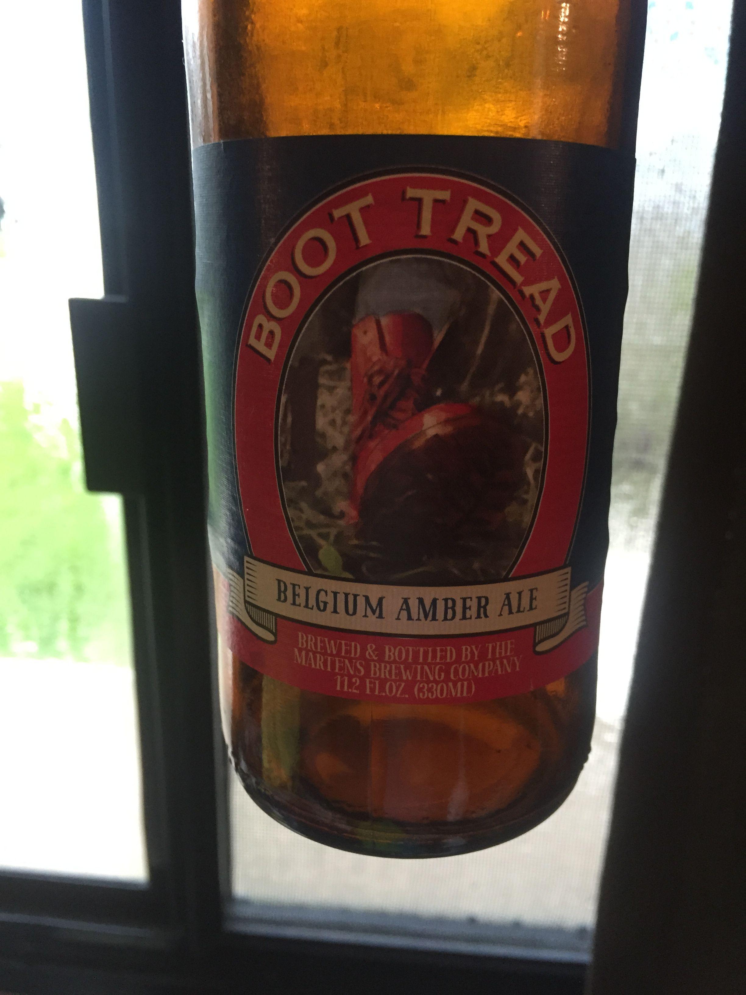 Boot Tread Seminole Fl Beer Bottle Beer Whiskey Bottle