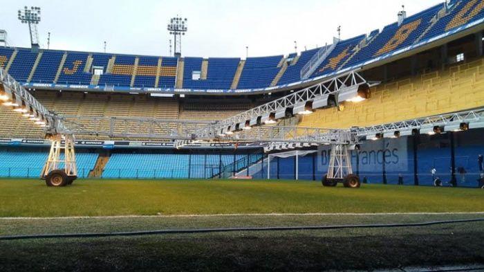 De los invernaderos a los estadios de futbol