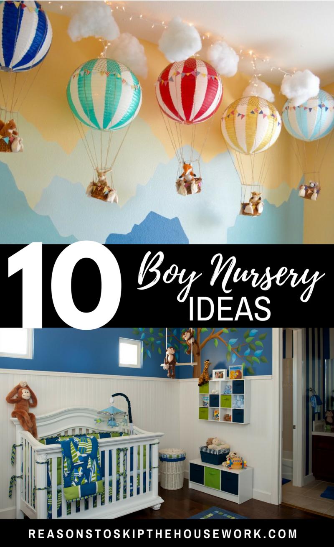 Amazing Boy Nursery: Boy Nursery Themes, Bright Nursery