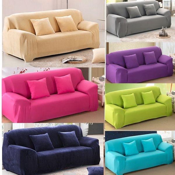 Colorful Sofa Furniture Protector Couch Slipcover For ...