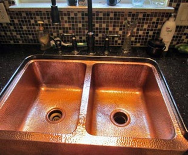 Everbrite Coatings Will Restore And Protect Metal From Corrosion Oxidation Fading Rust Prevents Tarnish Oxidati Brass Sink Copper Sink Cleaning Copper Sink