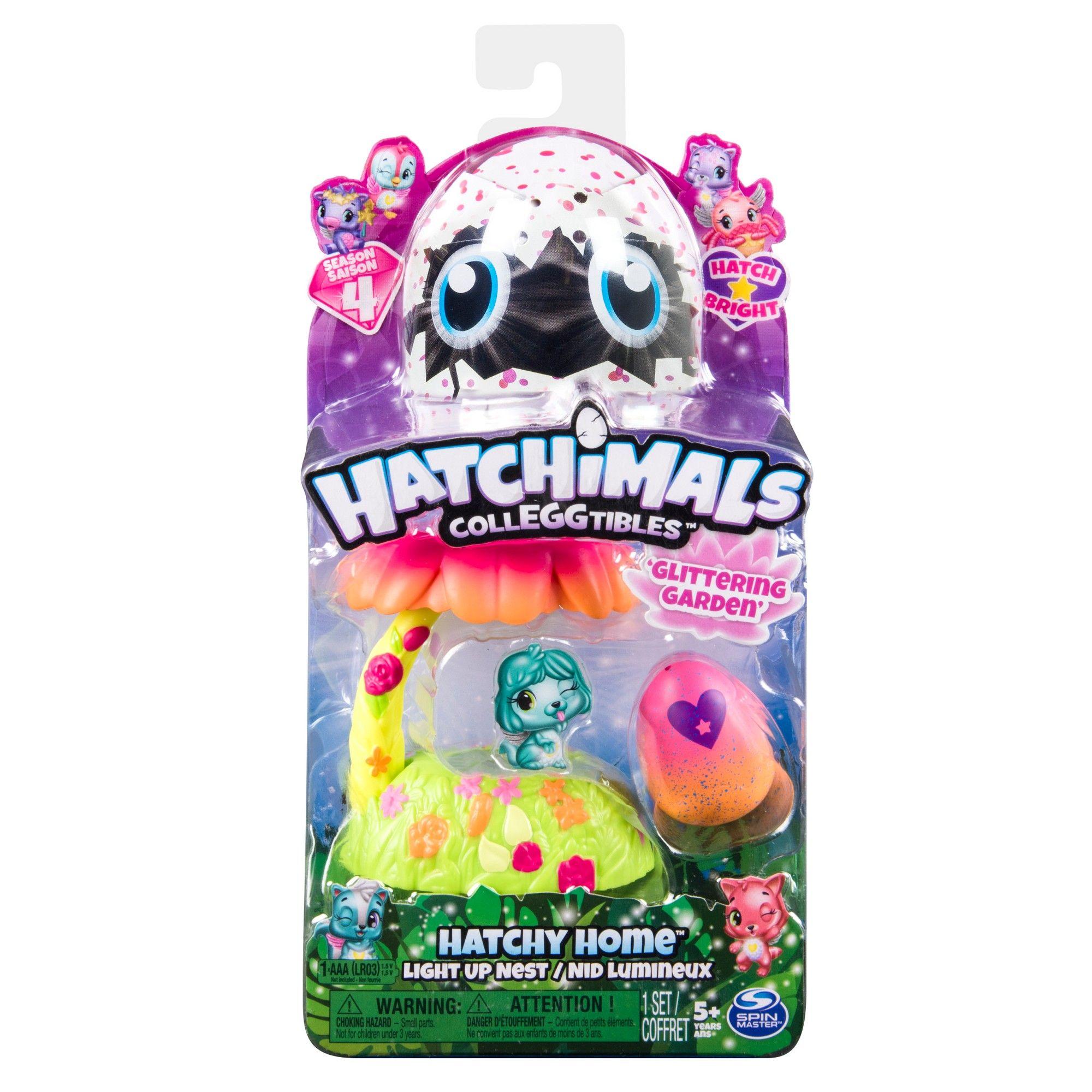 Hatchimals Colleggtibles Waterfall Slide Light Up Playset Exclusive Hatchimal