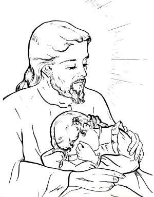 Dibujos Del Sagrado Corazon De Jesus Para Colorear 300x384 Jpg 300 384 Catholic Coloring Catholic Coloring Books Coloring Pages For Kids
