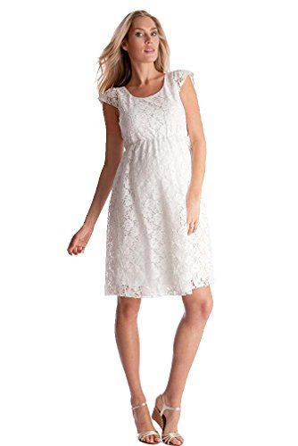 Seraphine Sloane Lace Maternity Dress  OffWhite  4