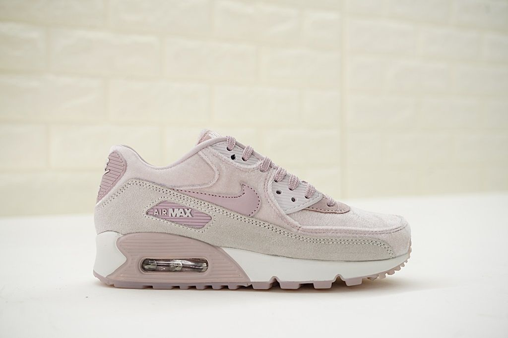 b137255fde Womens Nike Air Max 90 LX Velvet Particle Rose | xoxo in 2019 | Nike ...