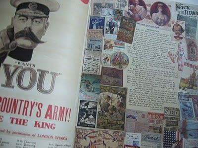 """The 1910s Scrapbook""""the decade of the great war"""""""