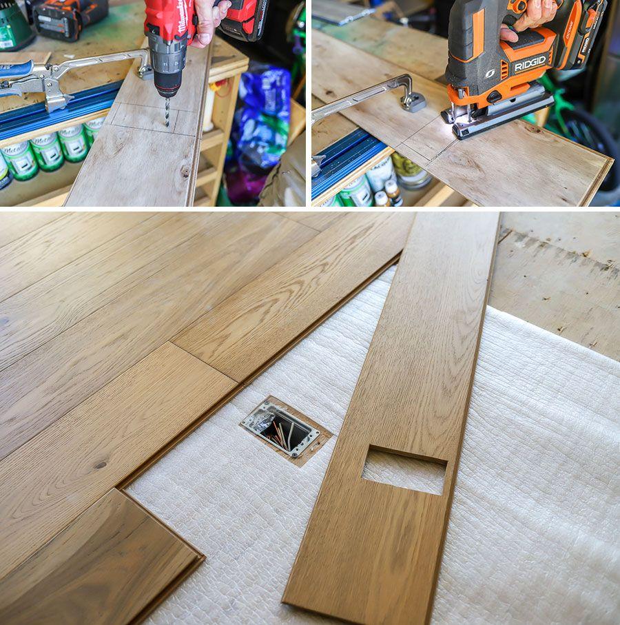How To Install Click Lock Engineered Hardwood Flooring