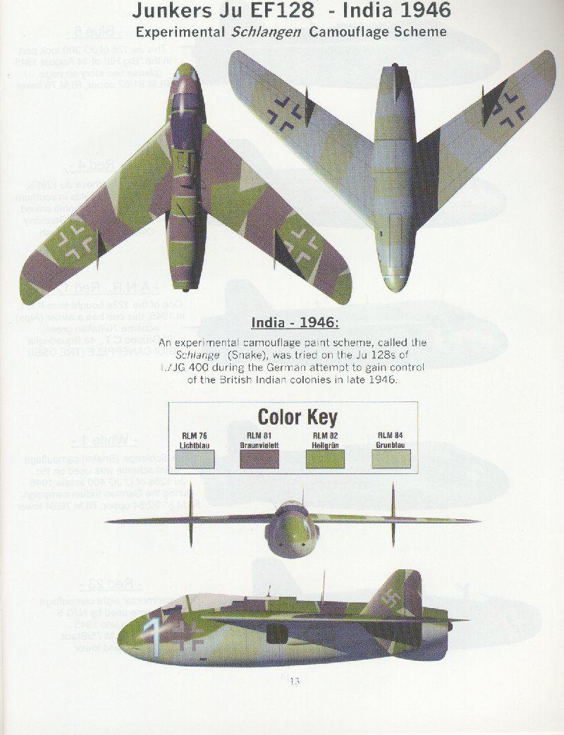 Junkers EF 128, art by Daniele...