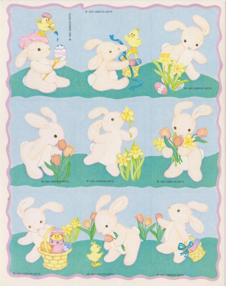 Fun Stickers Easter 1901
