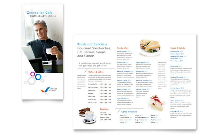 Free Menu Template by StockLayouts Design Inspiration - free food menu template