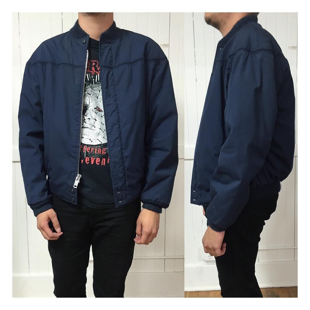Vintage Blue Derby Jacket Jackets Vintage Jacket Bomber Jacket