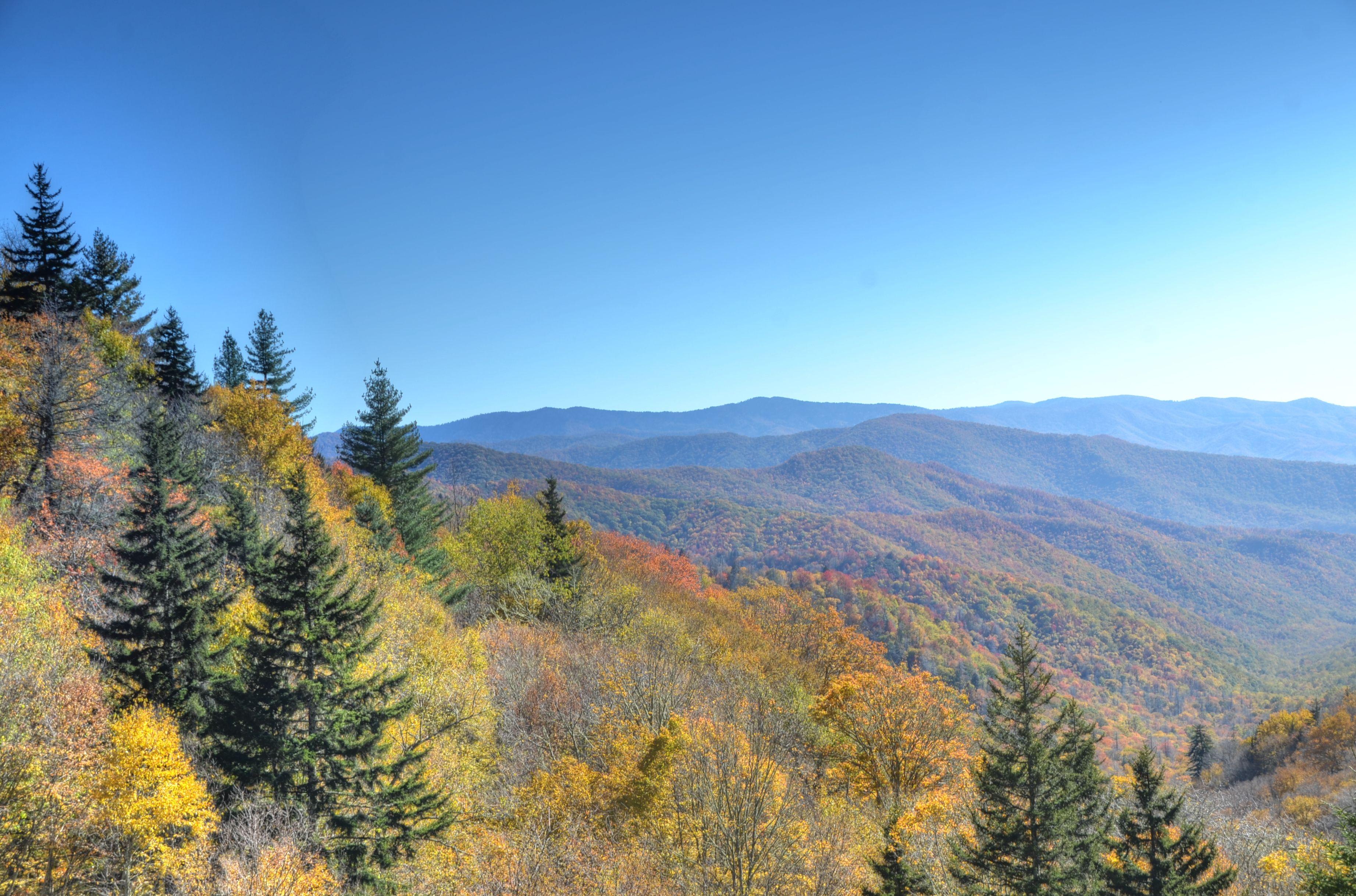 Oconaluftee Valley Overlook Great Smoky Mountains