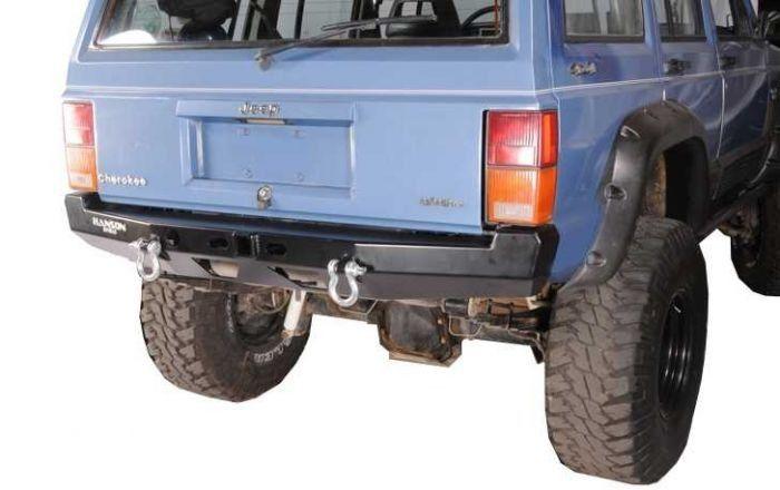 Hanson Offroad Basic Rear Bumper Cherokee Xj Jeep Cherokee Xj