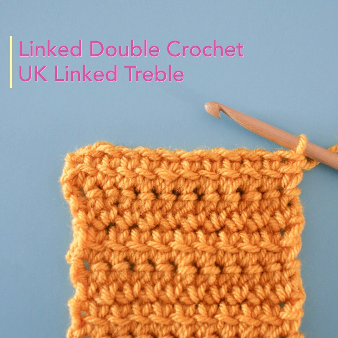 Photo of Linked Double Crochet Tutorial