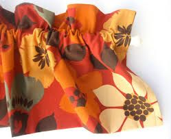 image result for burnt orange curtains curtains pinterest rh pinterest com Country Kitchen Curtains Burnt Orange and Brown Curtains