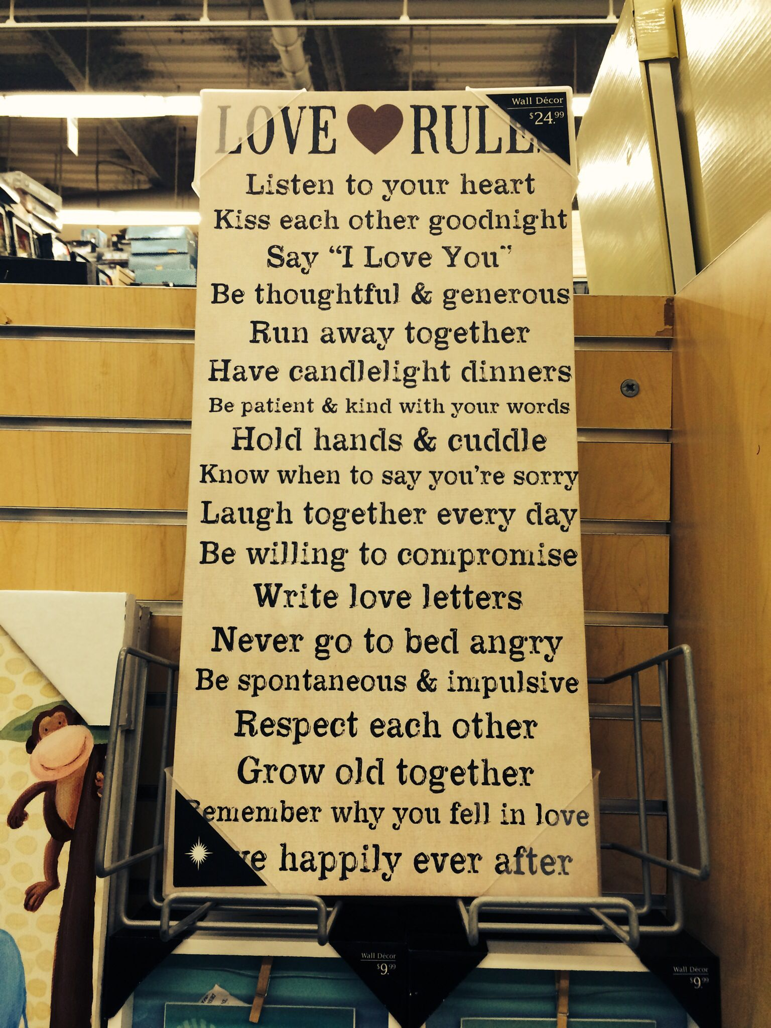rules of love. bed bath and beyond.   For the Home   Pinterest   Bath