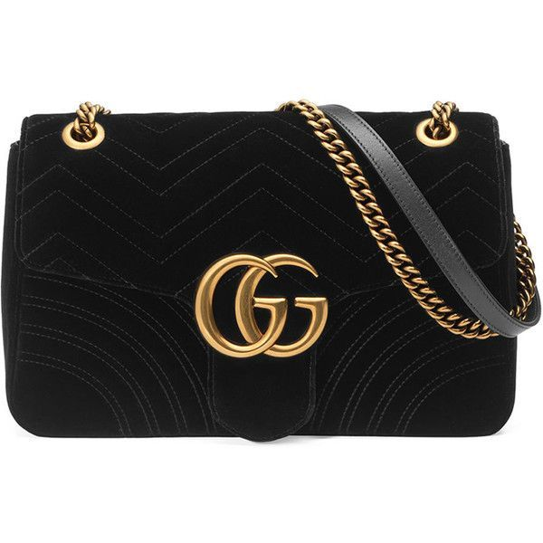 4fd8568e88d Gucci GG Marmont 2.0 Medium Quilted Shoulder Bag (198170 RSD) ❤ liked on  Polyvore featuring bags