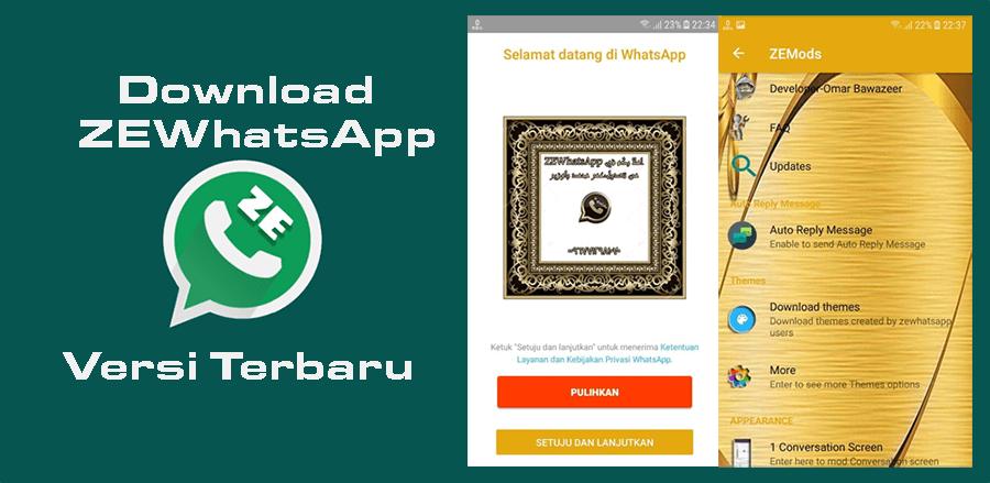 Download ZEWhatsApp APK 6.50 Versi Terbaru September 2018