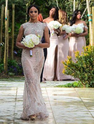 First Look At Minnie Dlamini Quinton Jones Fairytale Wedding