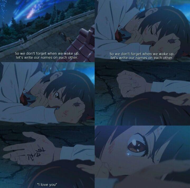 Kimi no na wa || your name. .? || ����。》review^-^ | Anime Amino