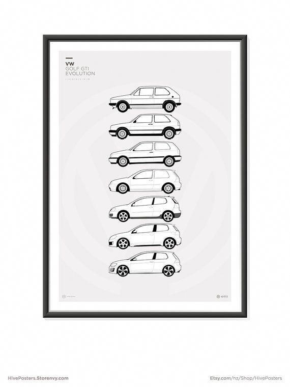Features all the Volkswagen Golf GTi models; Mk1, Mk2, Mk3